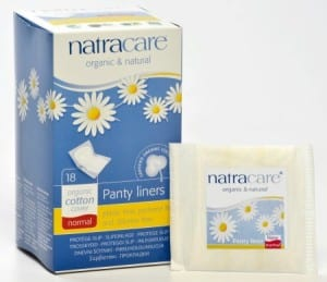 Natracare Organic and Natural Feminie Hygiene products
