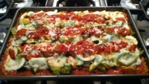 Vegetable Quinoa Lasagna
