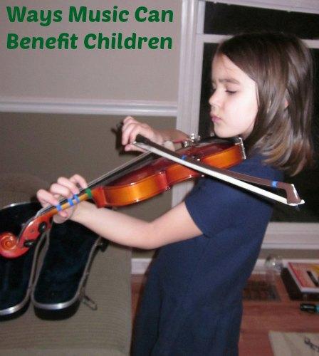 ways music can benefit children