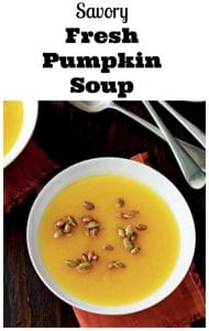 fresh pumpkin soup recipe