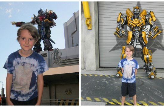 real life transformers at Universal