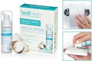 BodiFresh toilet tissue moisturizer