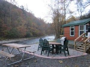KOA Cherokee Smokies deluxe cabin review