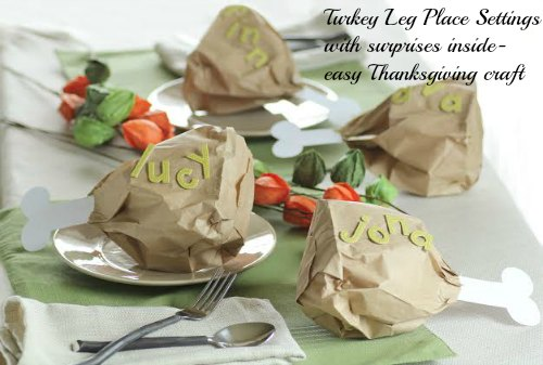 Turkey Leg Place Settings
