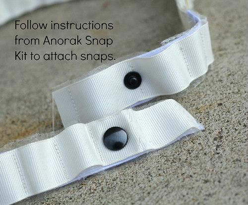 diy snap belt