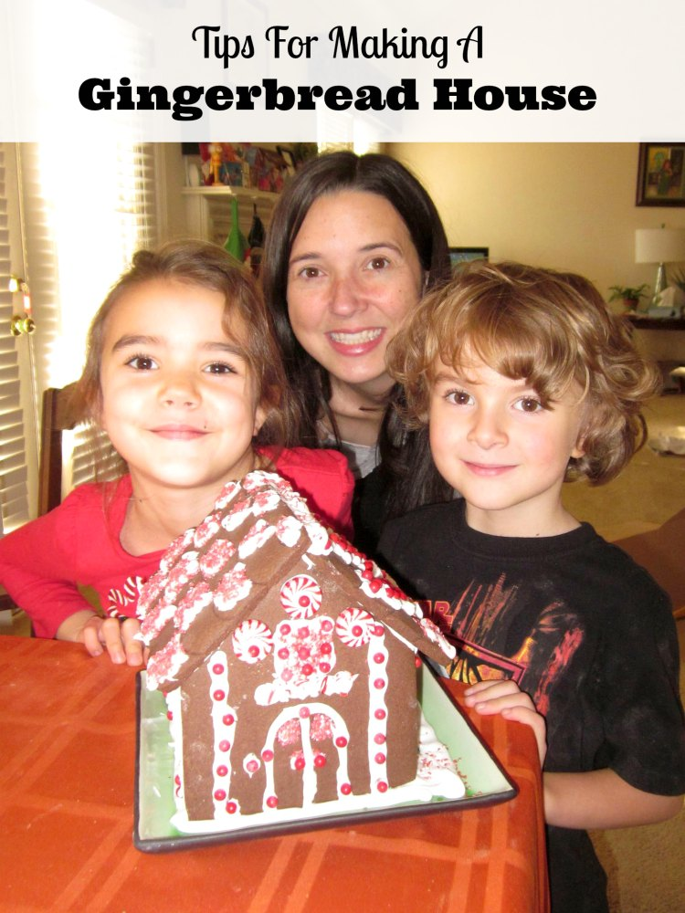 tips making gingerbread house