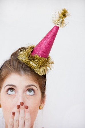 new year's craft DIY party hats