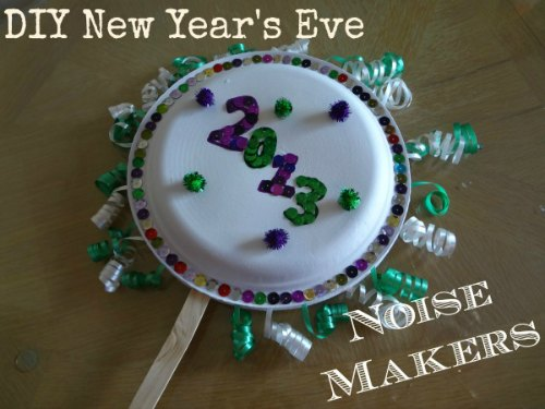 Fun New Year's Crafts Kids-DIY New Years Eve Noise Makers Craft