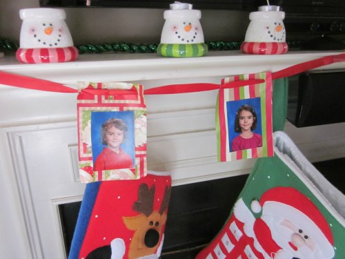 Christmas Garland With Pictures