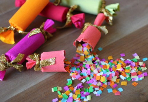 new year's craft party popper