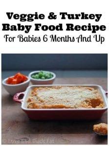 turkey baby food recipe