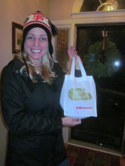 Gold Emblem party favor bags