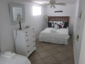 Tybee Island bedroom with beach decor