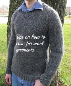 care for wool garments