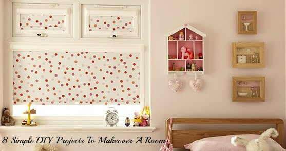 DIY home projects to makeover a room