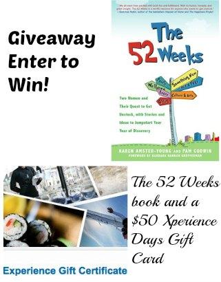 The 52 Weeks giveaway