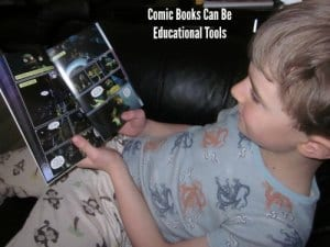 Comic Books can be used as educational tools