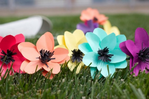 paper craft ideas, #4 paper flowers for spring