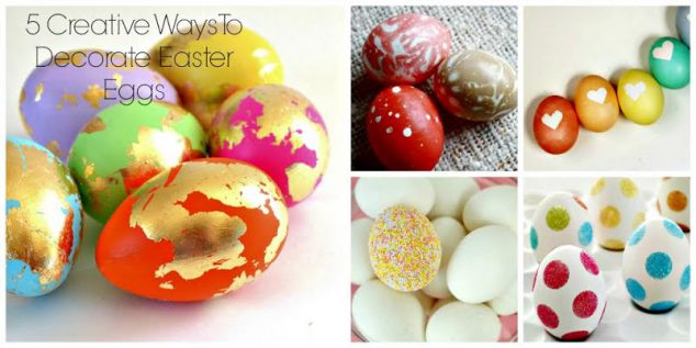 unique easter egg decorating ideas
