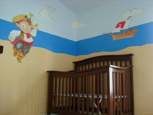 pirate nursery