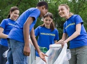 encourage volunteering