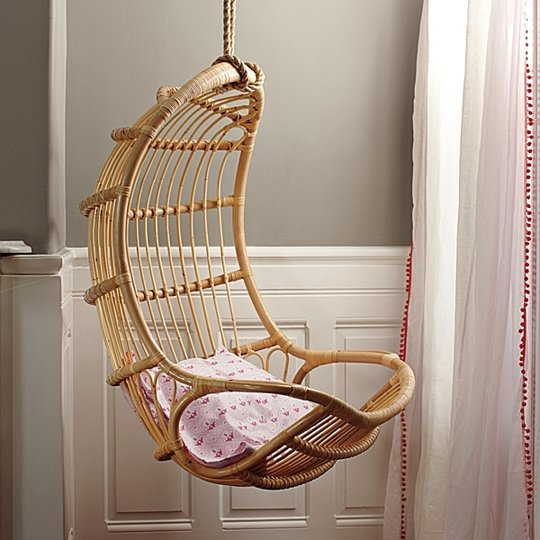 space saving hanging chair