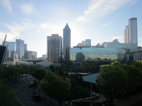 Downtown Atlanta Skyline from Hilton Garden Inn
