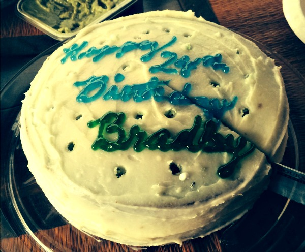 Key Lime Birthday Cake