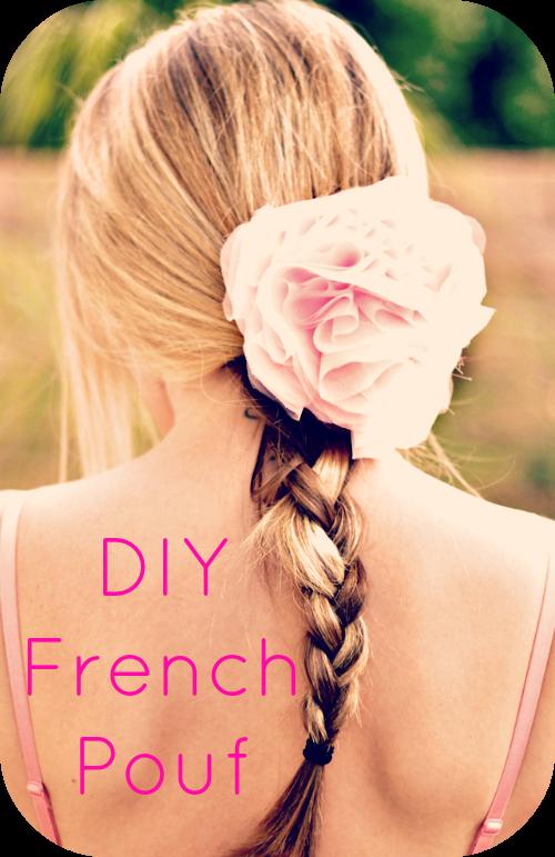 DIY French Pouf
