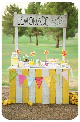 lemonade stand summer activities for kids