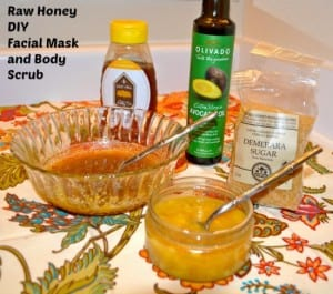 Raw Honey DIY Facial Mask