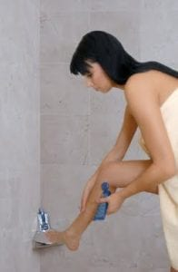 shaving is easier with Elevease