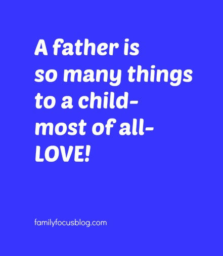roles of the father