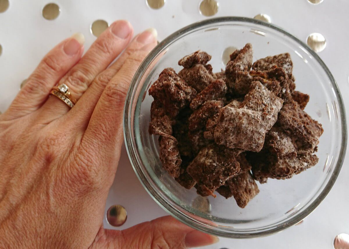 Brownie Puppy Chow