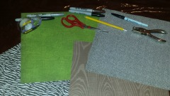 Chore Card supplies