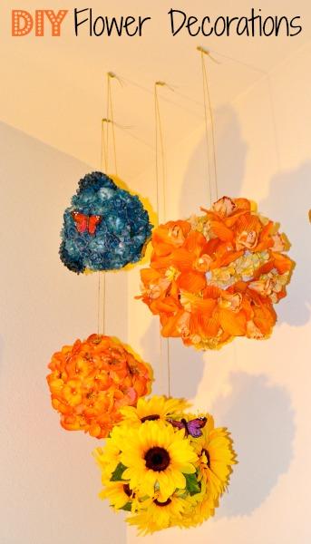 DIY Flower Decorations