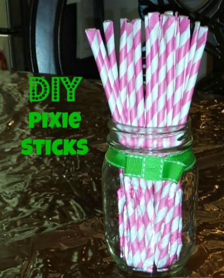 DIY sour pixie sticks tutorial
