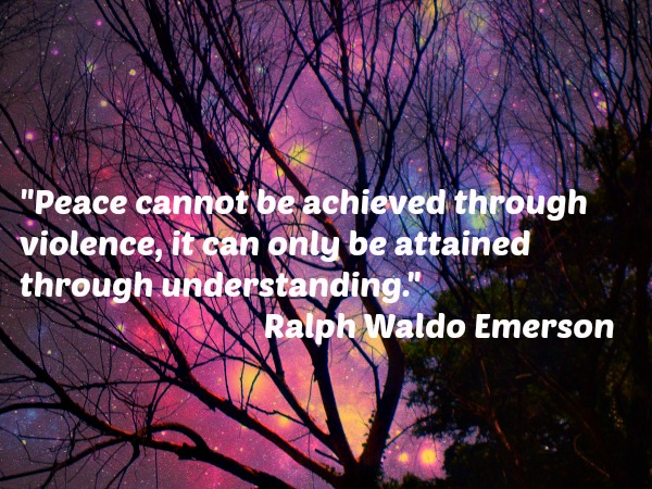 Emerson quote on peace