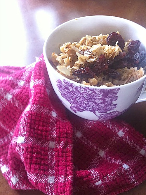 Farmer's Mrket Granola Recipe