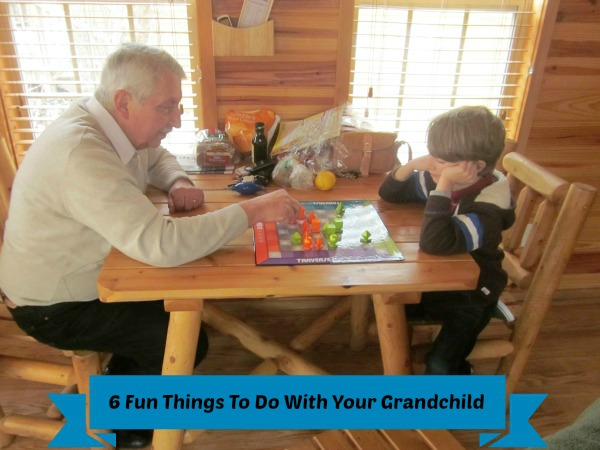 Fun Things for grandparents and grandchildren