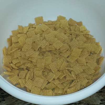 Puppy Chow Ingredients- Chex