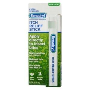 Benadryl Anti-Itch Sticks