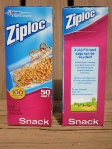 recycle ziplocs