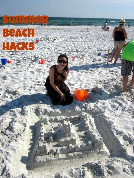 summer beach hacks