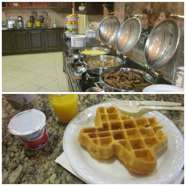 Comfort Suites San Antonio Breakfast Buffet