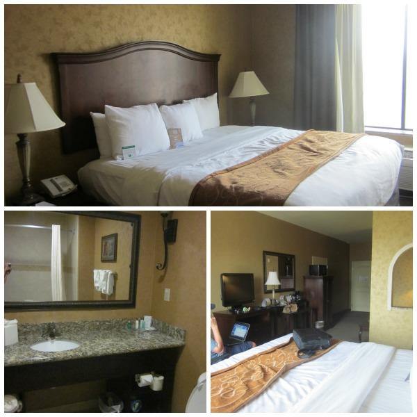Comfort Suites San Antonio Hotel Room