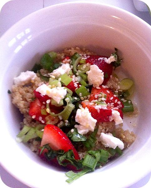 Strawberry Citrus Quinoa Salad