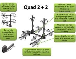 Swagman Quad 2+2