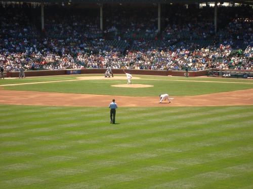 baseball field view