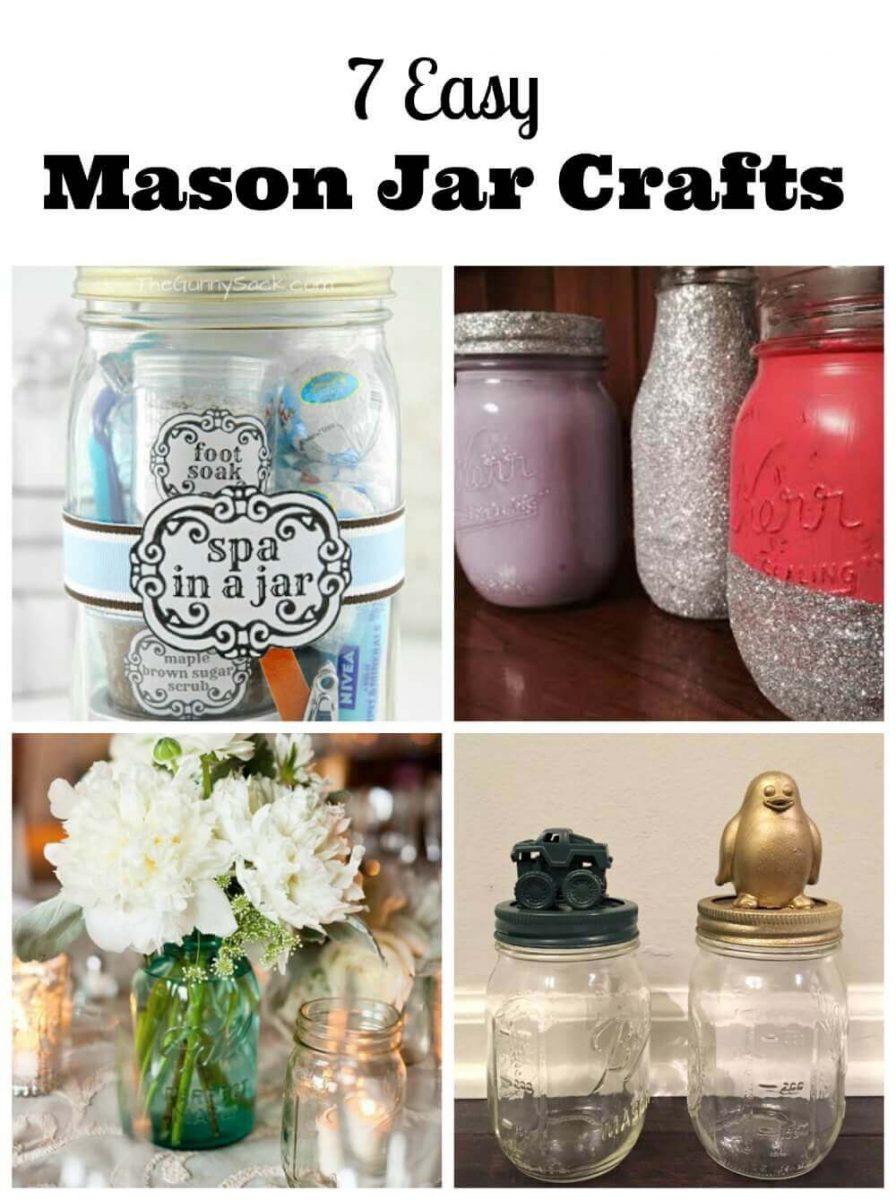 7 Easy Mason Jar Crafts Family Focus Blog